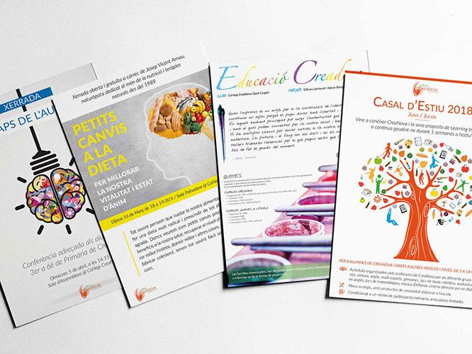 Creatividad y diseño de carteles · Col·legi CreaNova